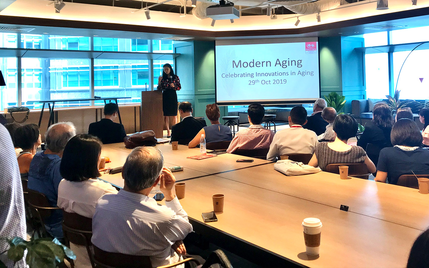 Modern Aging Networking Night: Celebrating Innovations in Aging